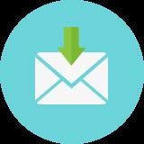 仮登録メール受信